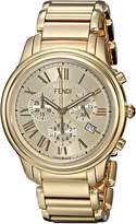 Fendi Men's F252415000 Classico Analog Display Quartz Watch