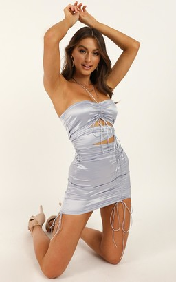 Showpo Italian Romance dress in lilac satin - 10 (M) Dresses