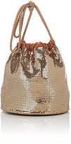 Paco Rabanne Women's Sac Mesh Bucket Bag-GOLD