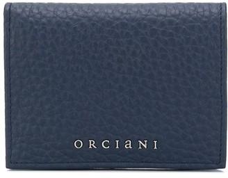 Orciani Logo Bi-Fold Wallet