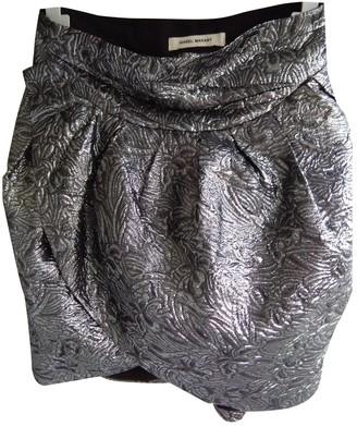 Isabel Marant Silver Cotton Skirt for Women