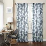 Eclipse 15459052084IND Wythe Floral Light Filtering Sheer Curtain