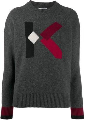 Kenzo Logo Embroidered Jumper