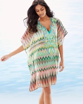 Soma Intimates Embellished Chevron Swim Cover Up