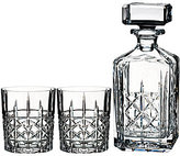 Marquis by Waterford Brady Decanter & Double Old Fashioned Set