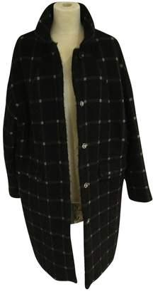 Bellerose Black Wool Coat for Women