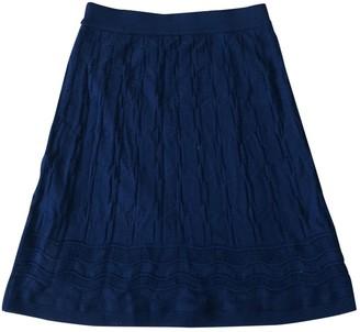 M Missoni Navy Wool Skirt for Women