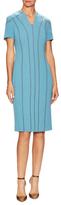 Carolina Herrera Wool Midi Dress