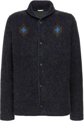 Massimo Alba Navajo Slim-Fit Cashmere-Blend Cardigan Sweater Size: S