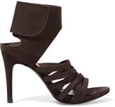 Pedro Garcia Sanna Suede Sandals - Dark brown