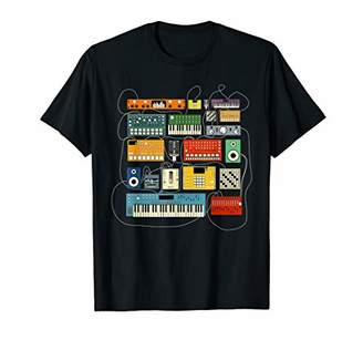 Synthesizer and Drum Machine Dj Electronic Musician T shirt