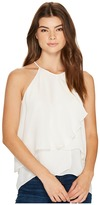 Nicole Miller Nico Layered Silk Tank Top Women's Sleeveless