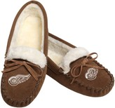 Unbranded Women's Detroit Red Wings Moccasin Slippers