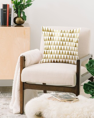 Express Deny Designs Triangle Pattern Throw Pillow