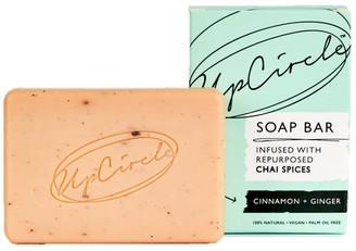 Upcircle Beauty Cinnamon + Ginger Chai Soap Bar 100g