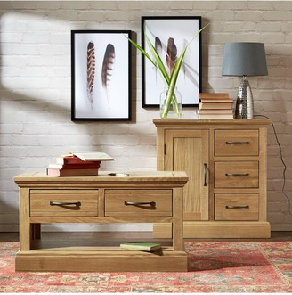 Luxe Collection Kingston 100% Solid Wood Ready Assembled Large Sideboard