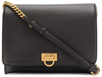 Salvatore Ferragamo Trifolio flap shoulder bag