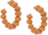 Mercedes Salazar woven crescent earrings