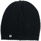 Twin-Set ribbed beanie hat - women - Acrylic/Wool - One Size