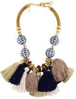 Lizzie Fortunato Polynesia Tassel Necklace