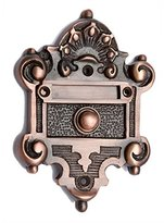 Adonai Hardware Nephishesim Decorative Brass Bell Push