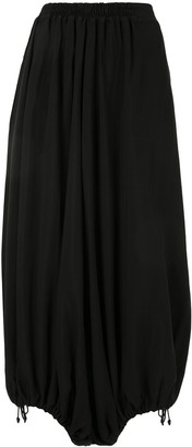 Y's Cropped Balloon Trousers