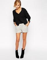 By Zoé Gray Stripe Shorts