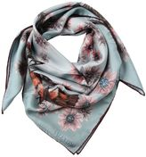 Valentino Mariposa Garden Silk Scarf