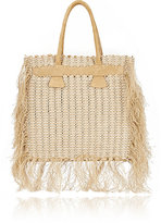 Paco Rabanne WOMEN'S 14#01 FRINGED TOTE-TAN