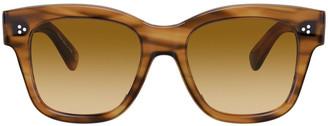 Oliver Peoples Melery Cat-Eye Acetate Sunglasses