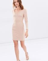 Miss Selfridge Plunge Bandage Dress