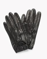 Theory Driver Gloves in Nappa
