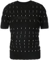 Yigal Azrouel woven stitch knit top