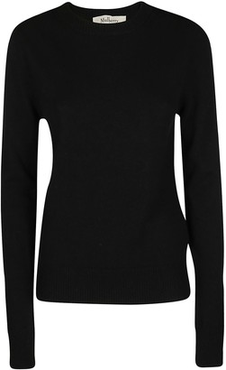 Mulberry Black Wool-cashmere Blend Nancie Jumper