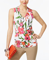 INC International Concepts Lattice-Back Tank Top, Created for Macy's