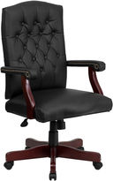 Asstd National Brand Tufted Design Leather Office Chair