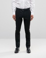 Selected Skinny Fit Pinstripe Pants with Stretch