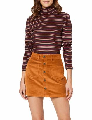 Only Women's Onlamazing Hw Corduroy Pnt Noos Skirt