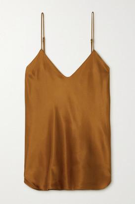 Nili Lotan Isabella Silk-satin Camisole - Gold