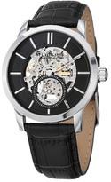 Stuhrling Original Men's Delphi 924 Mechanical Alligator Embossed Genuine Leather Watch