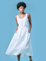 Diane von Furstenberg Poplin Drawstring Dress