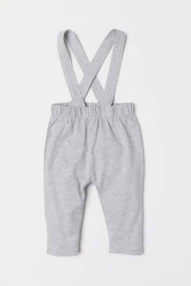 H&M Pants with Suspenders