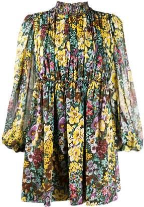 Wandering floral print dress