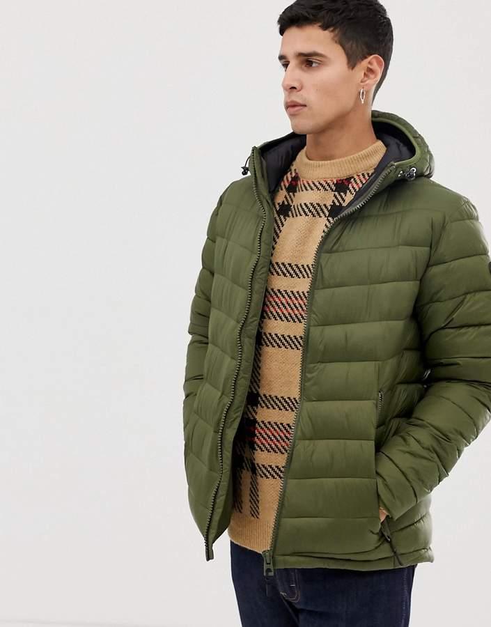 1a4dffefe Khaki Cotton Jacket Men - ShopStyle UK