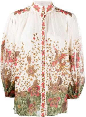 Zimmermann Empire Batik floral-print shirt