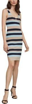 BCBGMAXAZRIA Striped Tank Dress