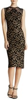 Dress the Population Gwen Strappy Floral Embroidered Dress