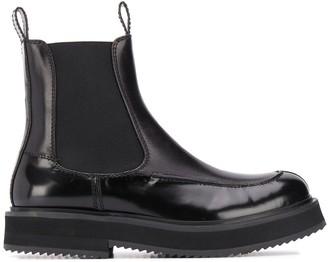 Joseph round-toe Chelsea boots