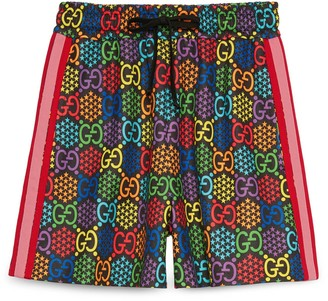 Gucci GG Psychedelic print shorts
