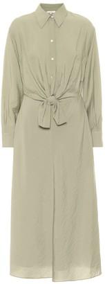 Vince CrApe shirt dress